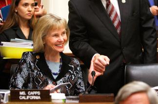Congresswoman Lois Capps (D-CA)