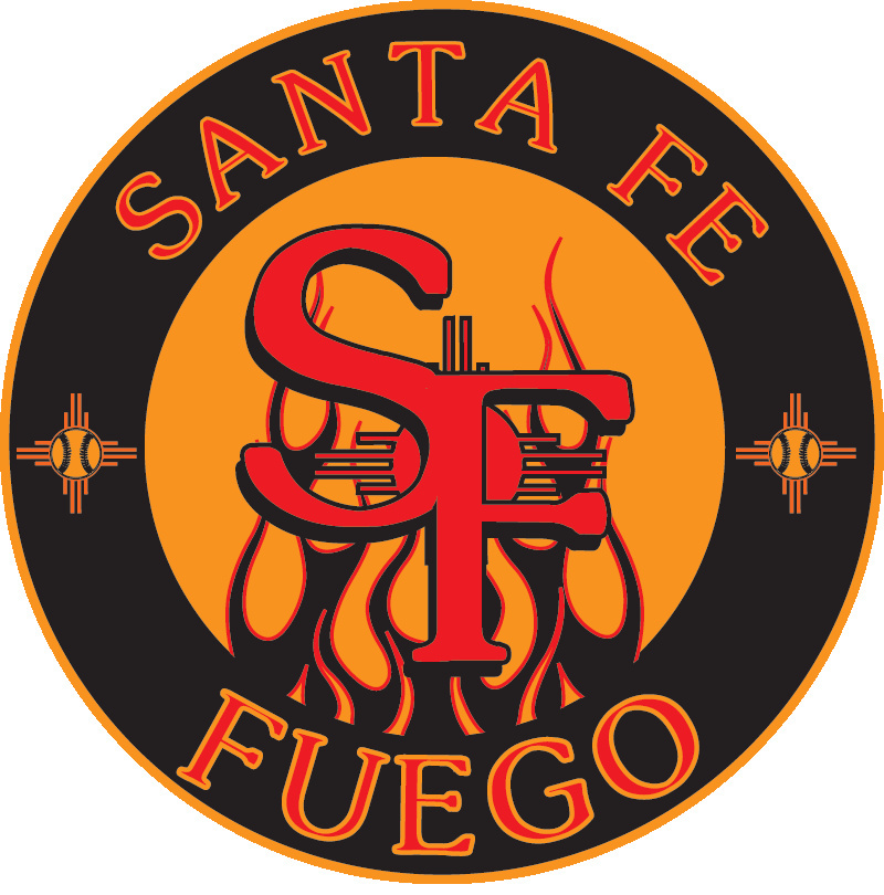 Logo for the Santa Fe Fuego baseball team.
