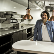 The government of Peru is partnering with culinary stars — like celebrity chef Gaston Acurio, shown here in his restaurant Astrid & Gaston in Lima in 2014 — to promote Peruvian cuisine around the world.