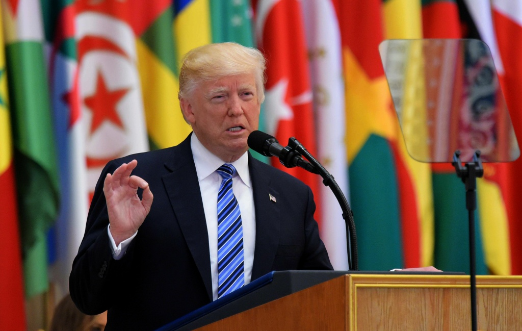 Trump to urge Muslim leaders to fight terror in Suadi speech