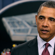 President Obama Speaks On The Defense Strategic Review At The Pentagon