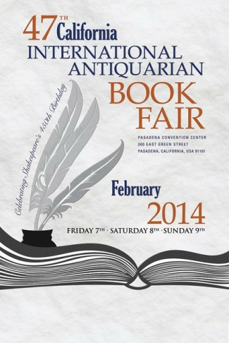 California International Antiquarian Book Fair 2014