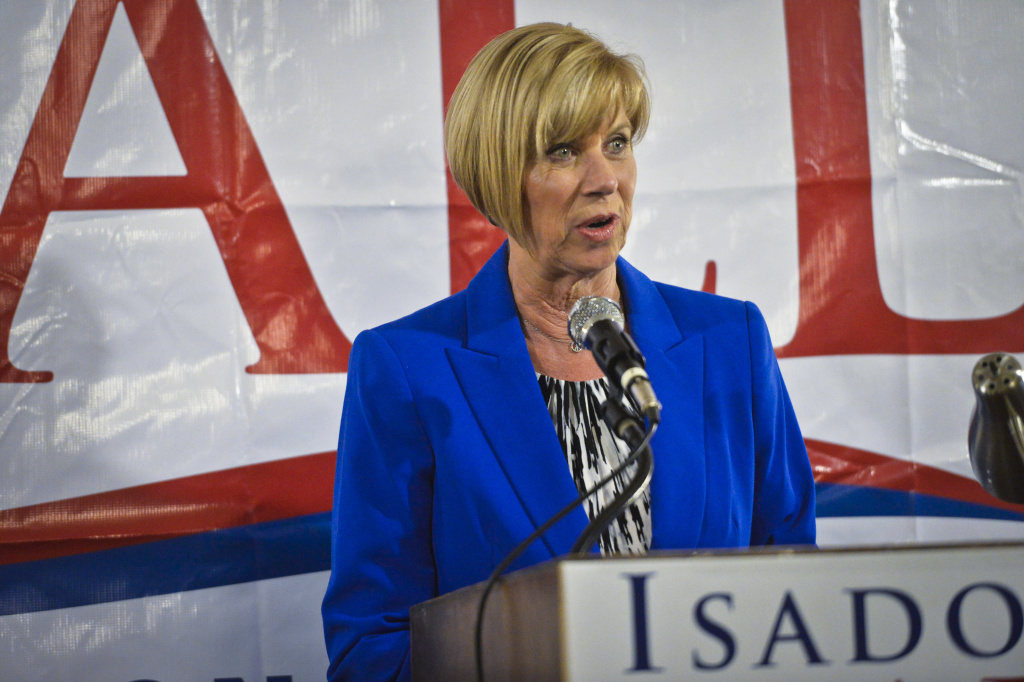 Los Angeles County Supervisor Janice Hahn is one of two supervisors proposing to help fund legal services for unauthorized immigrants facing deportation.
