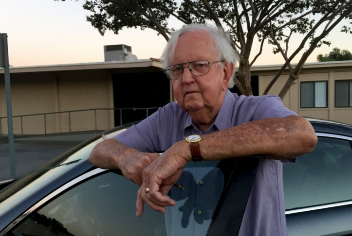 Music teacher and former principal Carl Schafer has logged about 1,700 miles during his three-year quest to get arts taught in California's public schools.