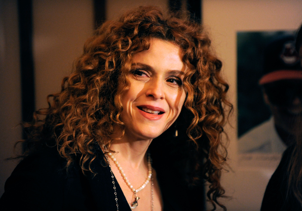 Actress and singer Bernadette Peters poses for photos.