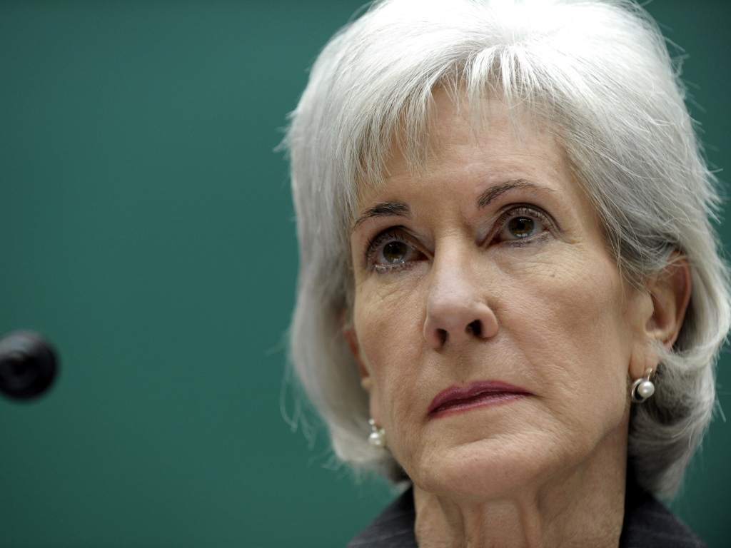 Health and Human Services Secretary Kathleen Sebelius listens as she testifies on Capitol Hill in Washington, Wednesday. Earlier Wednesday, Sebelius announced an inquiry into the agency's launch of the problem-plagued HealthCare.gov site.