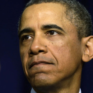 President Obama speaks about the sequester on Feb. 19.