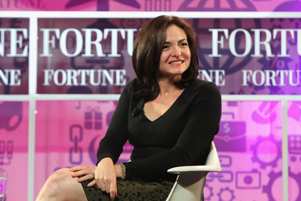 Chief operating officer of Facebook Sheryl Sandberg speaks onstage at the FORTUNE Most Powerful Women Summit on October 16, 2013 in Washington, DC.