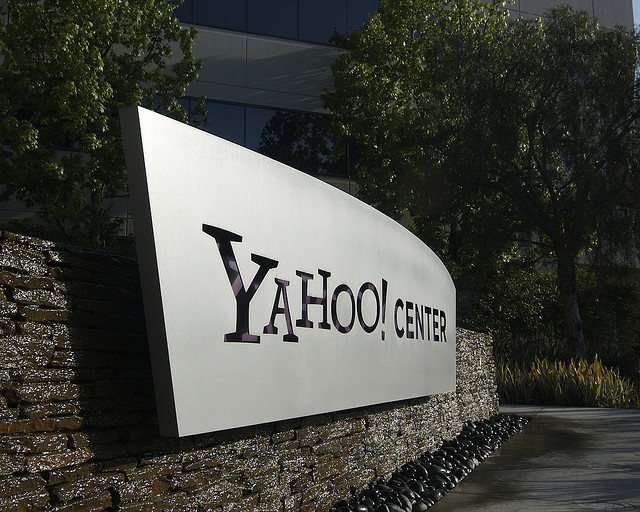 Yahoo's Santa Monica location. The company missed earnings expectations today for its second quarter.