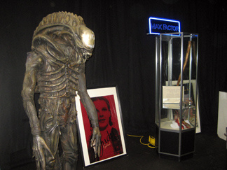 A full scale replica of the Alien Creature from the popular Alien film series could be yours through the Hollywood Entertainment Museum auction hosted this weekend.