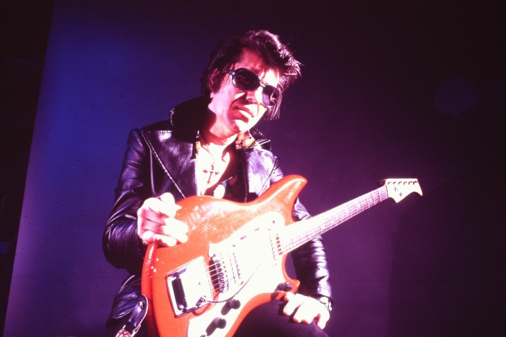 Shawnee indian Link Wray is one of the many Native American musicians featured in