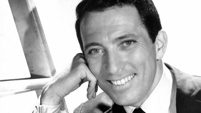 Singer Andy Williams poses for a publicity photo circa 1962.