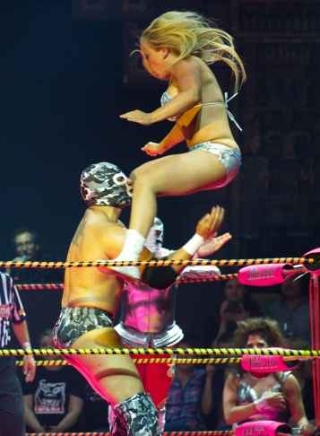 US-ENTERTAINMENT-LUCHA-WRESTLING