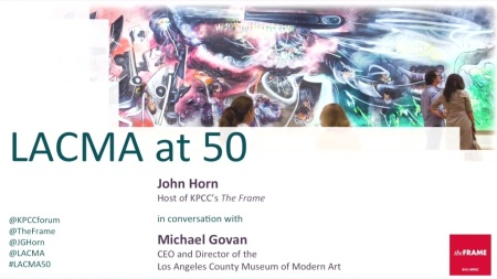 LACMA at 50: A conversation with Michael Govan and The Frame's John Horn