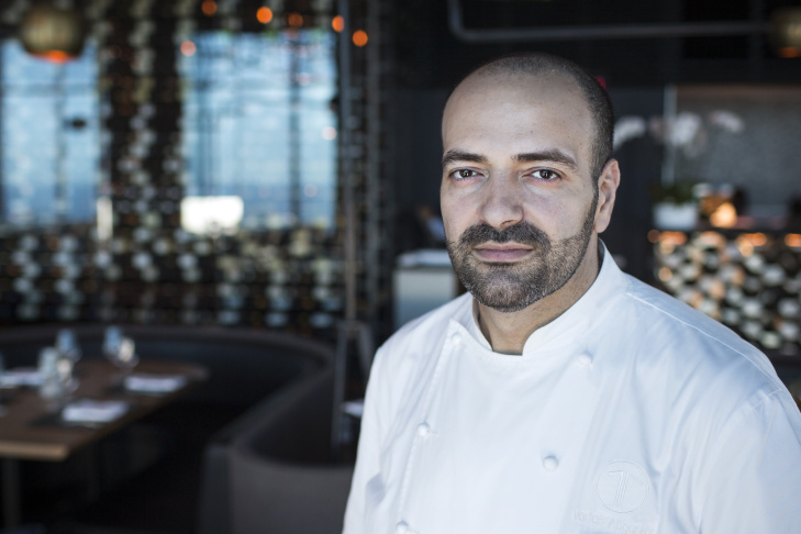 Vartan Abgaryan is the executive chef of 71 Above, the new restaurant on the 71st floor of the U.S. Bank Tower in downtown Los Angeles. Vartan was the executive chef at Cliff's Edge restaurant.