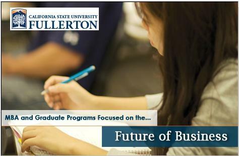 CSUF Mihaylo MBA Programs