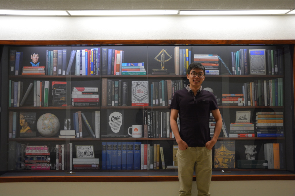 Hao Zhao is a student from Hunan, China. He's pursuing a PhD in economics at Caltech.