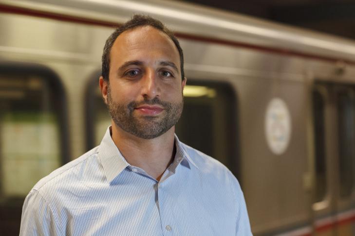Joshua Schank, Chief Innovation Officer at LA Metro's Office of Extraordinary Innovation.