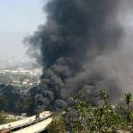 Freeway Fire