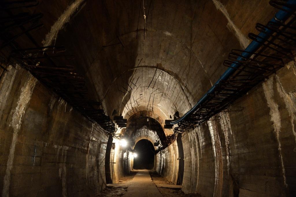 Underground galleries, part of Nazi Germany