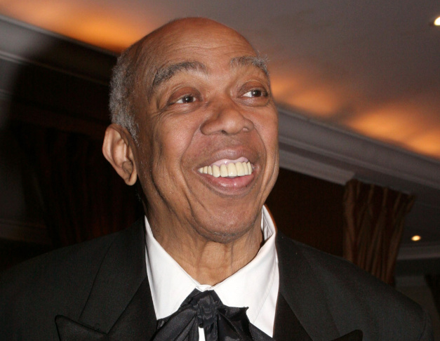 In this March 10, 2005 file photo, Geoffrey Holder poses at the French Institute Alliance Francaise'