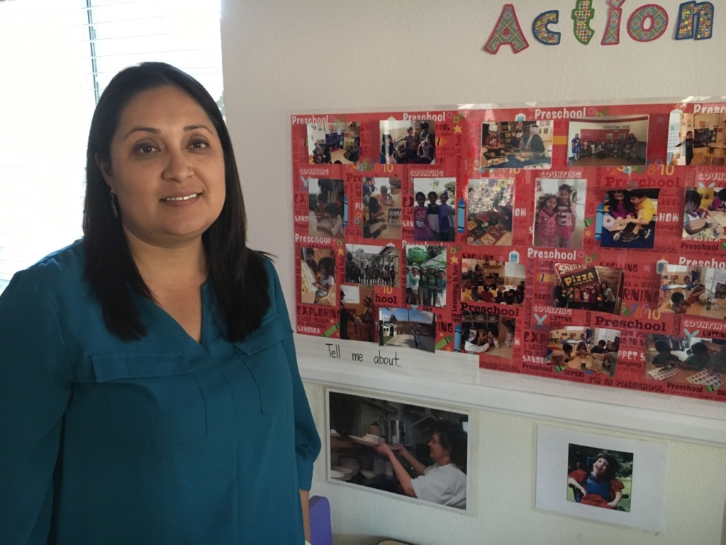 Guadalupe Gonzalez, director of Sunrise Preschool in Whittier says that during her 17 years in operation, her teachers have turned over on average every three years, partly due to the low wages in the field.