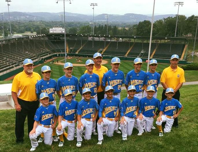 The Santa Margarita Little League team.