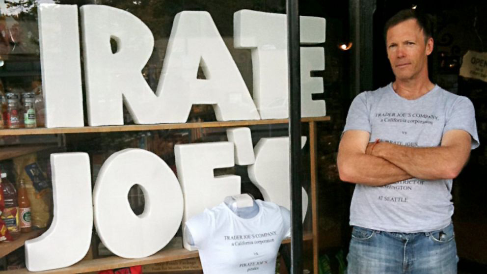 Michael Hallatt runs Pirate Joe's, a Vancouver-based store that sells Trader Joe's products.