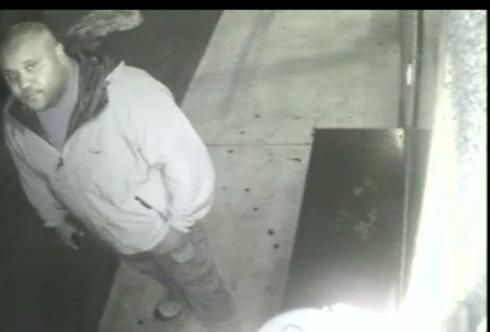 Alleged cop killer, ex-LAPD officer Christopher Dorner, from a security camera at an Orange County hotel, Jan. 28, 2013.