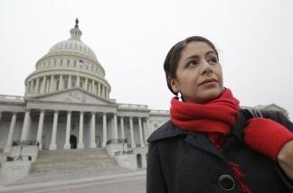Julieta Garibay is photographed on Capitol Hill in Washington, D.C., on Dec. 10, 2010.