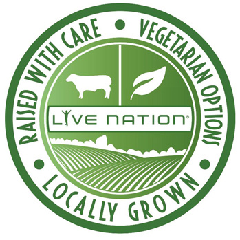 Logo for Live Nation's locally grown concessions effort.