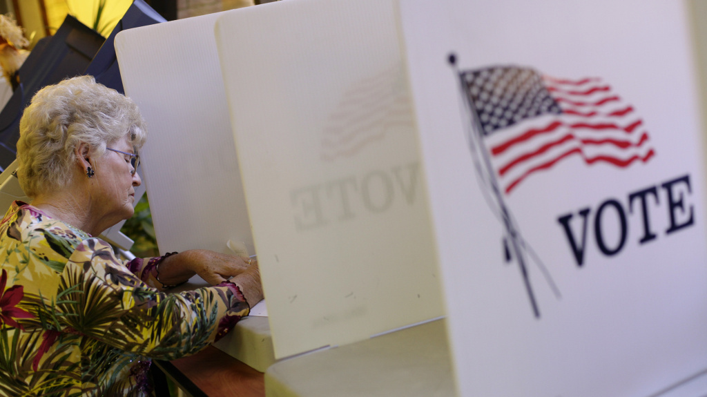 It's Election Day in Los Angeles. The polls are open until 8 p.m.