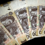 Picture of the Mexican five hundred peso