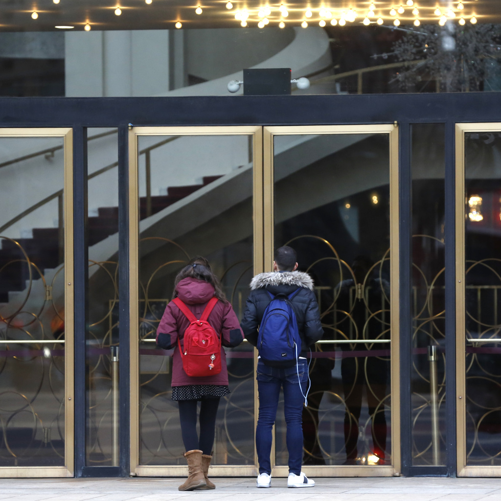 The Metropolitan Opera House at Lincoln Center is one of the venues closed by the coronavirus crisis, leaving musicians and other gig workers without income.