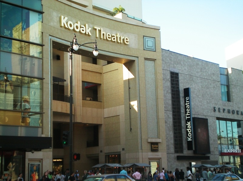 The Kodak Theatre at the Hollywood & Highland complex.