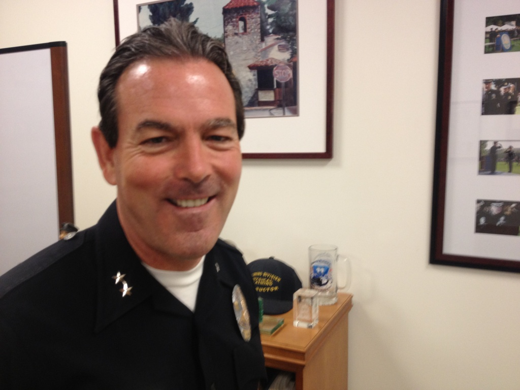 LAPD Deputy Chief Bill Murphy heads the department's Police Sciences and Training Bureau.