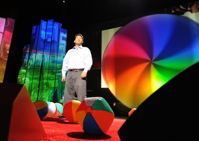 Improv Anywhere performance at TED2012: Full Spectrum, February 27 - March 2, 2012. Long Beach, CA.