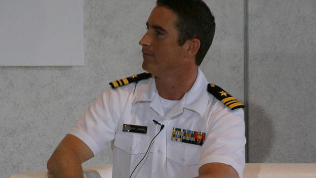 Lieutenant Commander and Assemblyman Jeff Gorell