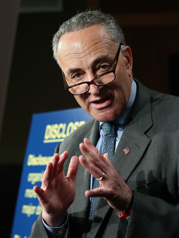 "Senate Democrats Announce New Legislation To Counter ""Citizens United"" Decision"