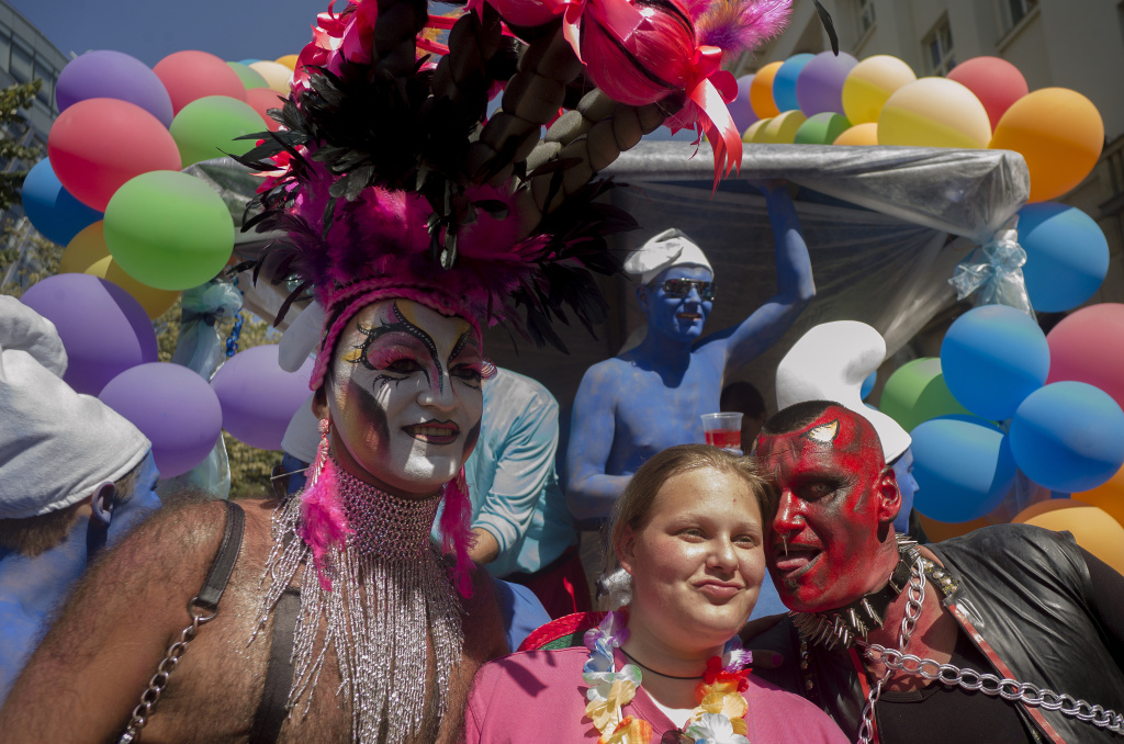 Is sexual expression intrinsic to gay pride parades?