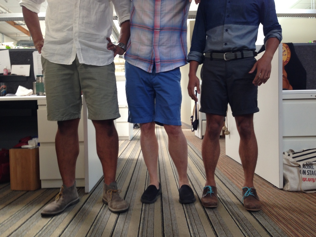 Take Two® | Should men ever wear shorts to work? | 89.3 KPCC