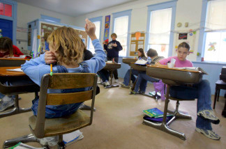 Many school district budgets are in the red