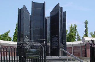 Martyrs Memorial at the Los Angeles Museum of the Holocaust
