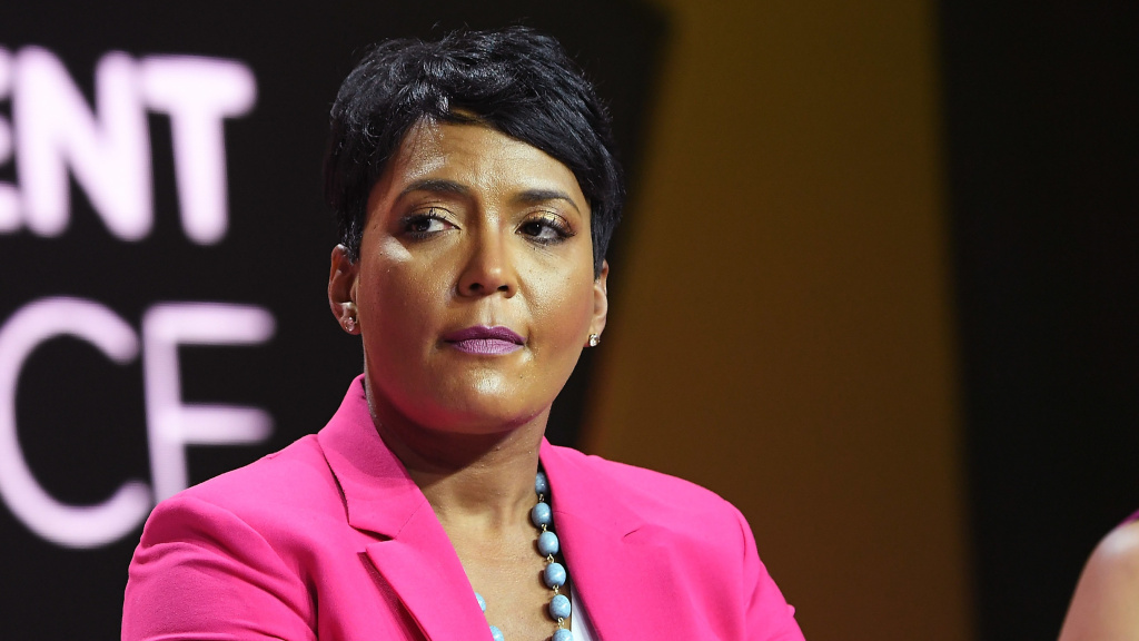 Atlanta Mayor Keisha Lance Bottom, seen here in 2018, has called for mandatory mask wearing in her city.