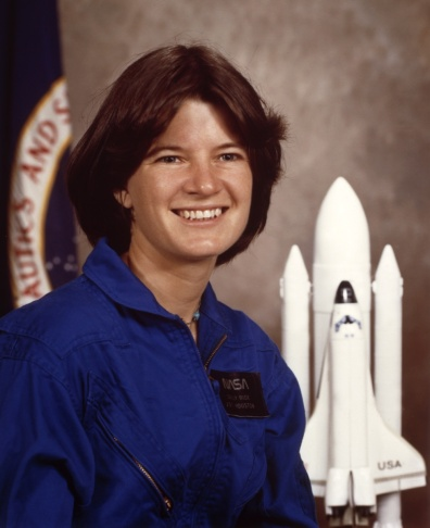 NASA astronaut Sally K. Ride, the Space Shuttle Ch