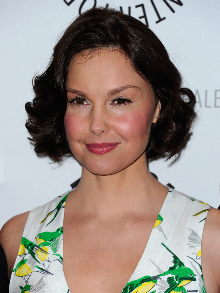 Actress Ashley Judd arrives to The Paley Center for Media in Beverly Hills on April 10, 2012.