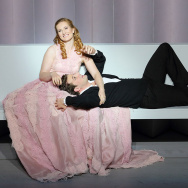 "Paula Murrihy and Liam Bonner in the title roles of LA Opera's ""Dido and Aeneas"""