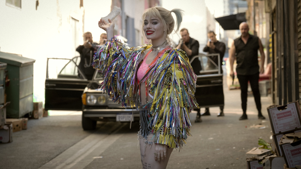 Lunatic, Fringe: Harley Quinn (Margot Robbie) finds a whole new, non-suicidal squad in <em>Birds of Prey.</em>