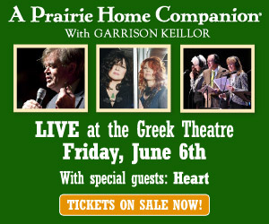 A Prairie Home Companion Greek Theatre 2014