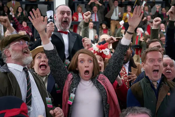 Toni Collette (center) in the film